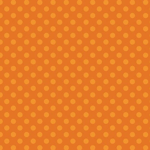 100% Cotton Fabric For Quilting And Crafting By Emma And Mila From The Hot Coco Collection: Tonal Dot Orange
