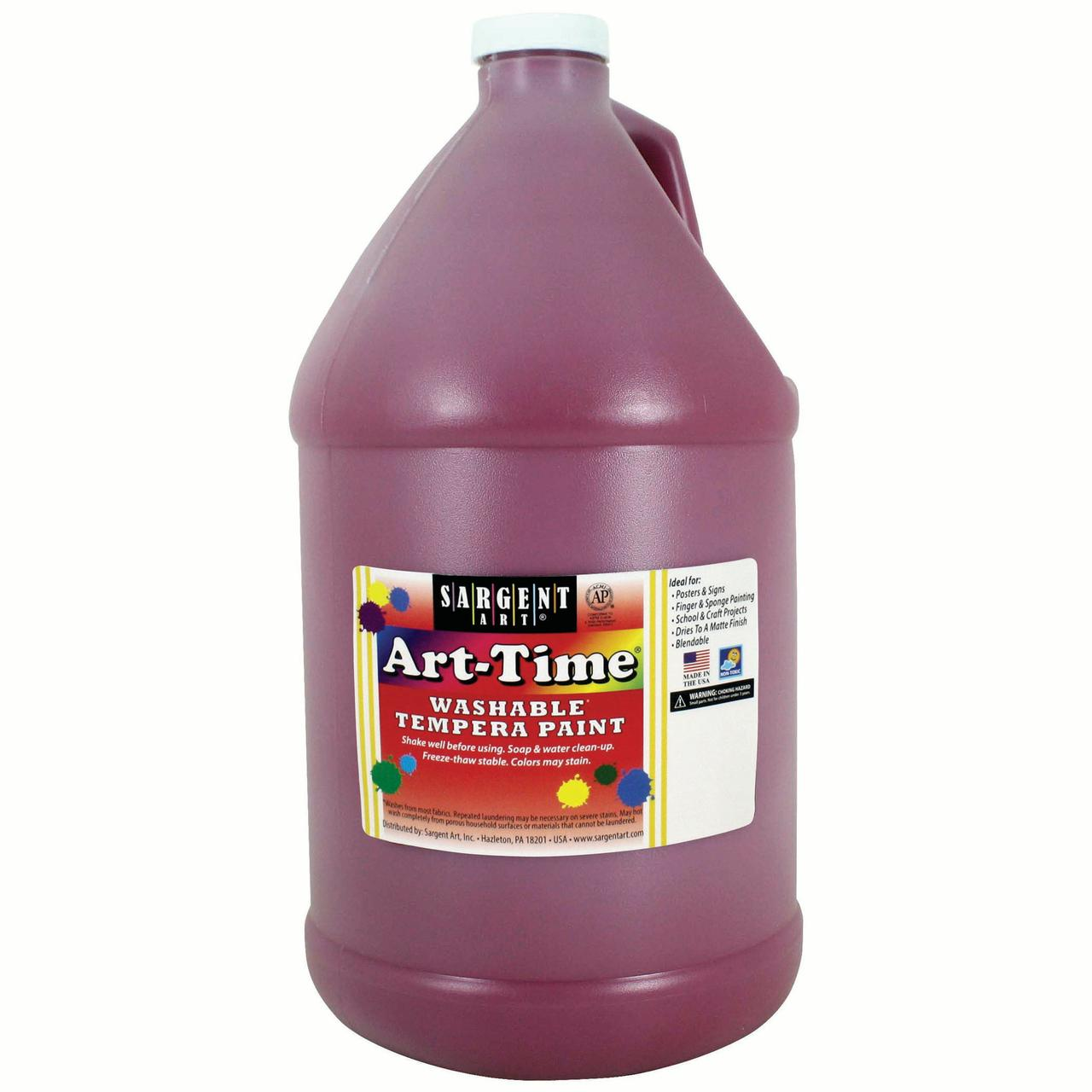 Art-Time® Washable Paint, Magenta, Gallon