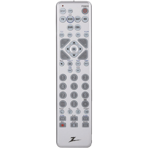 ZENITH ZC600 6-Device Learning Universal Remote