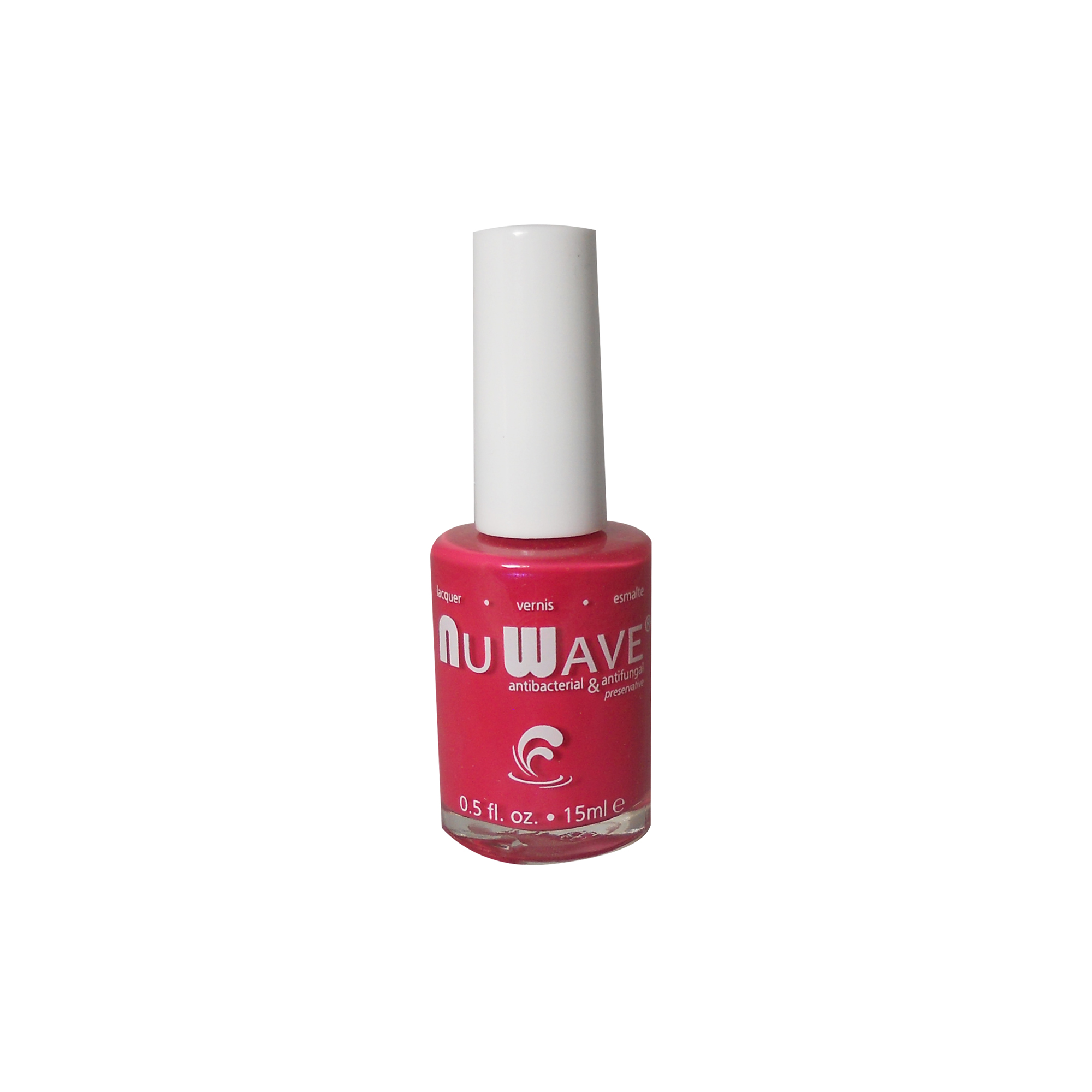 NuWave Antifungal Nail Polish, A15L,Shiny Hot Pink, Thaliana, .5 Fl ...