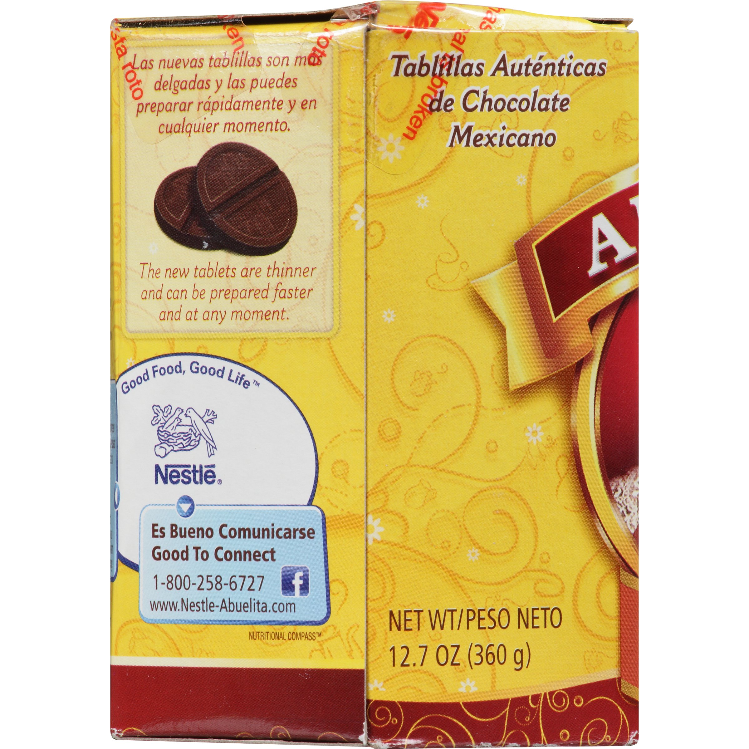 Nestle ABUELITA Authentic Mexican Hot Chocolate Single Serve Drink ...
