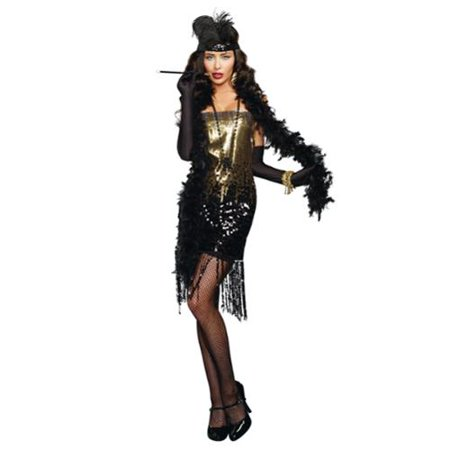 Dazzle Me Roaring 20's Flapper Adult Costume](Roaring 20s Suits)