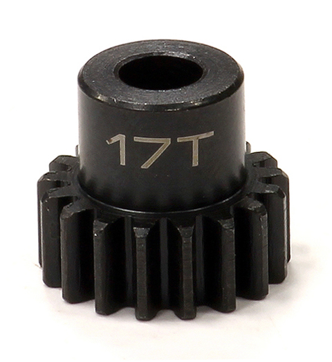Integy RC Toy Model Hop-ups C24033 Billet Machined 32 Pitch Steel Pinion 17T for Brushless Applications w/5mm Shaft