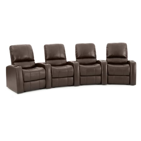 Octane Blaze XL900 4 Seater Curved Home Theater Seating ()