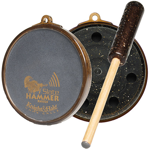 Knight and Hale Slate Hammer Turkey Pot Call
