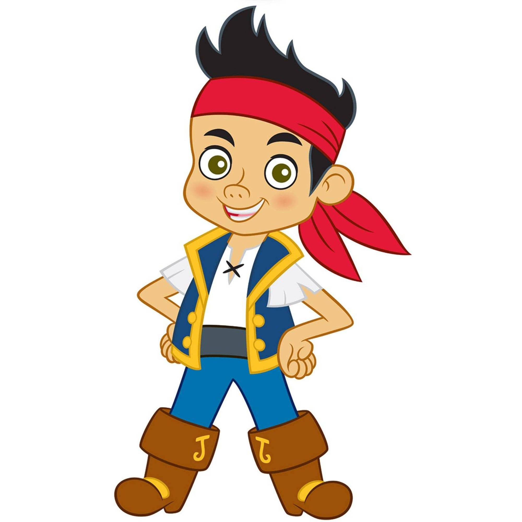 Disney Jake and the Never Land Pirates Standup, 3' Tall