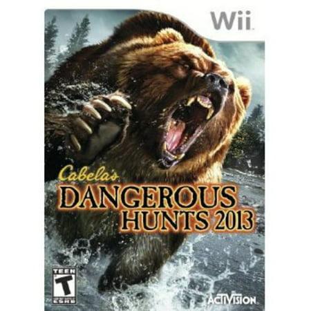 Cabelas Dangerous Hunts 2013   Nintendo Wii