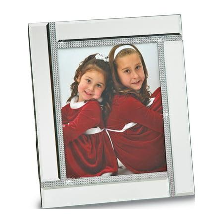Glass Mirror 8x10 Photo Frame (Designer Glass Frames)