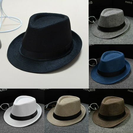 Hat Panama Straw Fedora Trilby Cap Foldable Travel Brim Wide Mens Ladies (Best Quality Panama Hats)