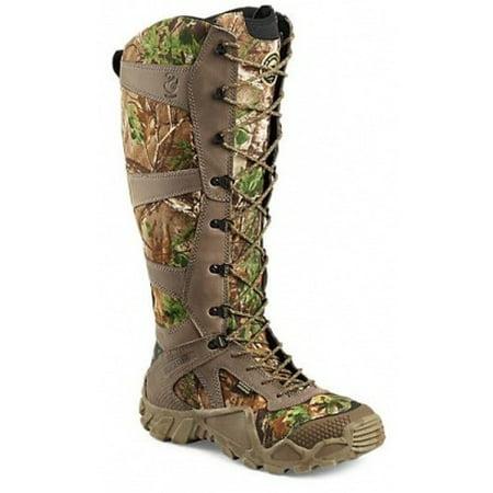 Irish Setter VaprTrek 2875 Snake Boot, 17 Inch, Waterproof, Snake Guard, Brown / Metatarsal Guard 6 Inch Boot