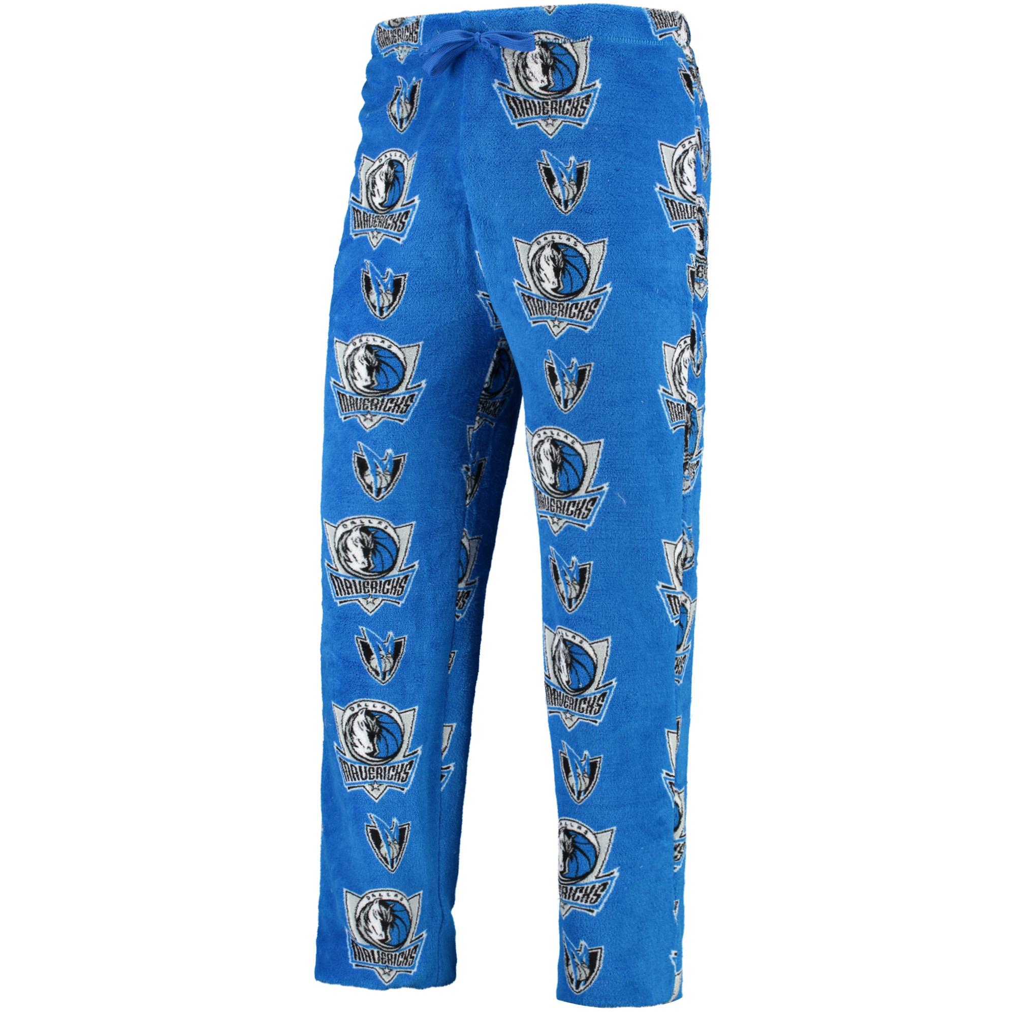 Dallas Mavericks UNK Plush Team Lounge Pants - Blue