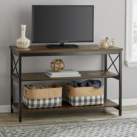 Mainstays 3-Shelf TV Console Table for Most TVs up to 42