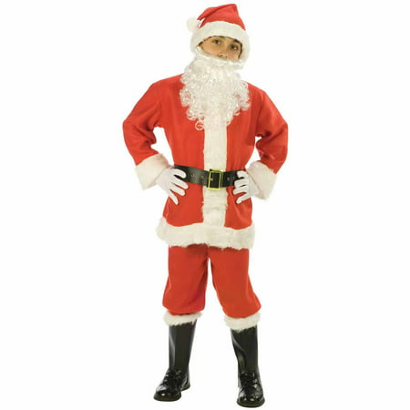 Santa Suit Child Halloween Costume - Boys Santa Suit