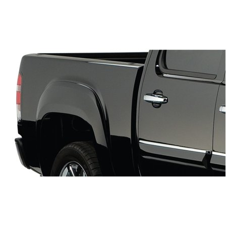 Bushwacker 07-13 GMC Sierra 1500 Fleetside OE Style Flares 2pc 69.3in Bed - Black (Bushwacker Flares)