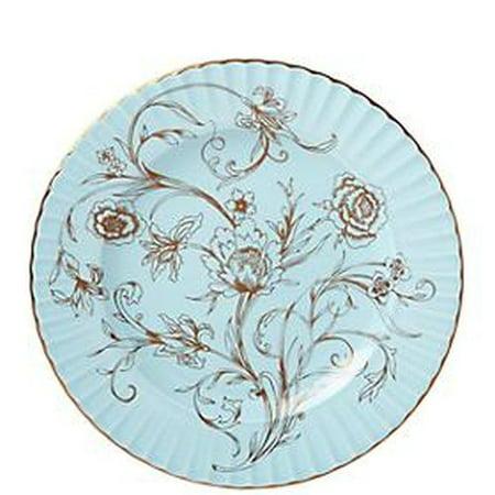 3dda86f0af Lenox Marchesa Shades Blue Floral Dinnerware Accent Pl - Walmart.com