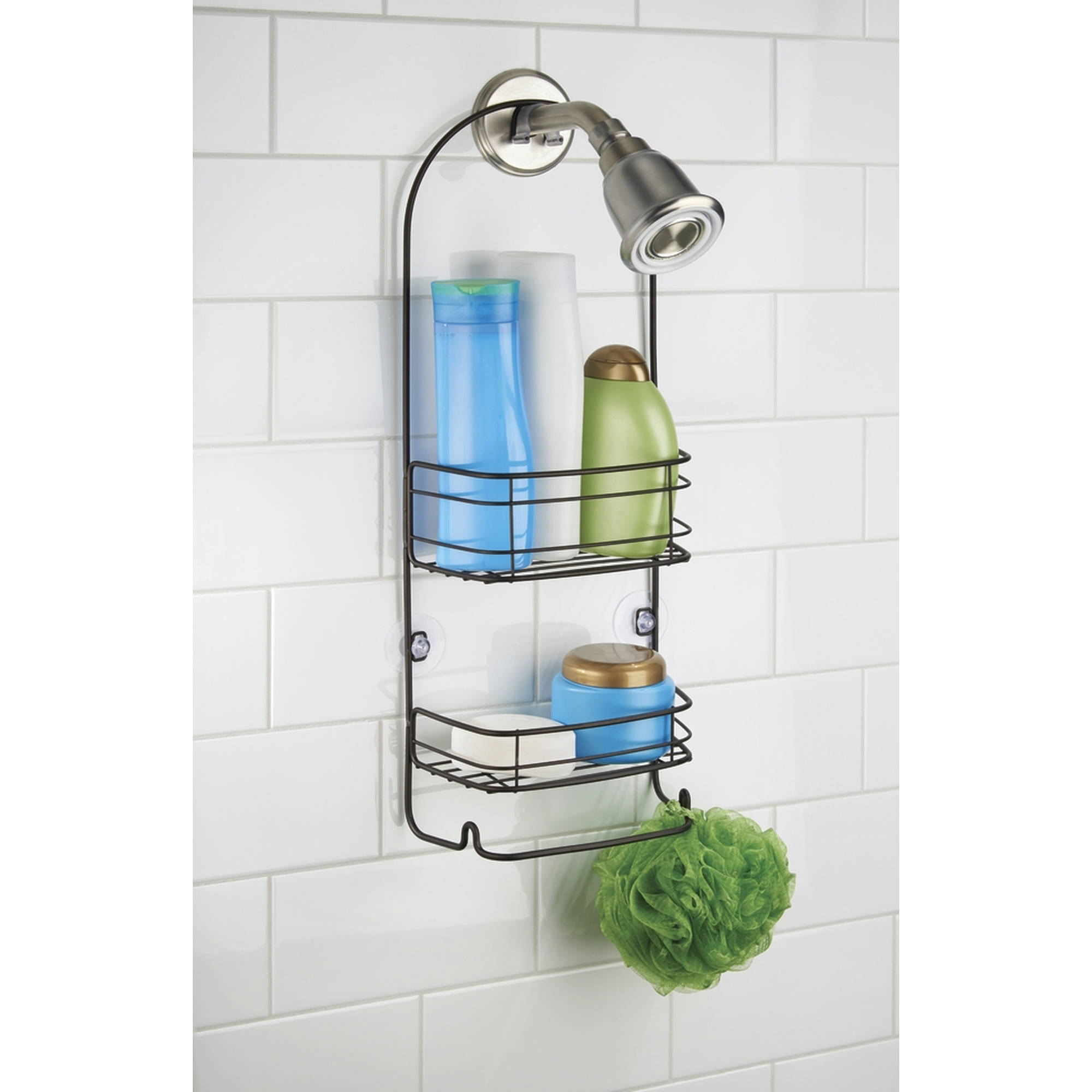 InterDesign Rondo Bathroom Shower Caddy for Shampoo, Conditioner, Soap by Generic