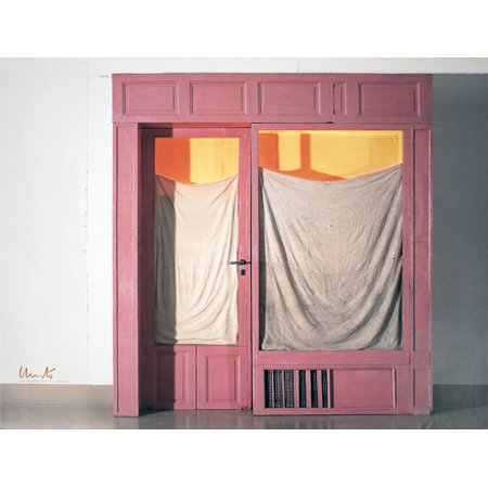 Javacheff Christo-Wrapped Store Front-2011 Offset (Original Signed Lithograph)