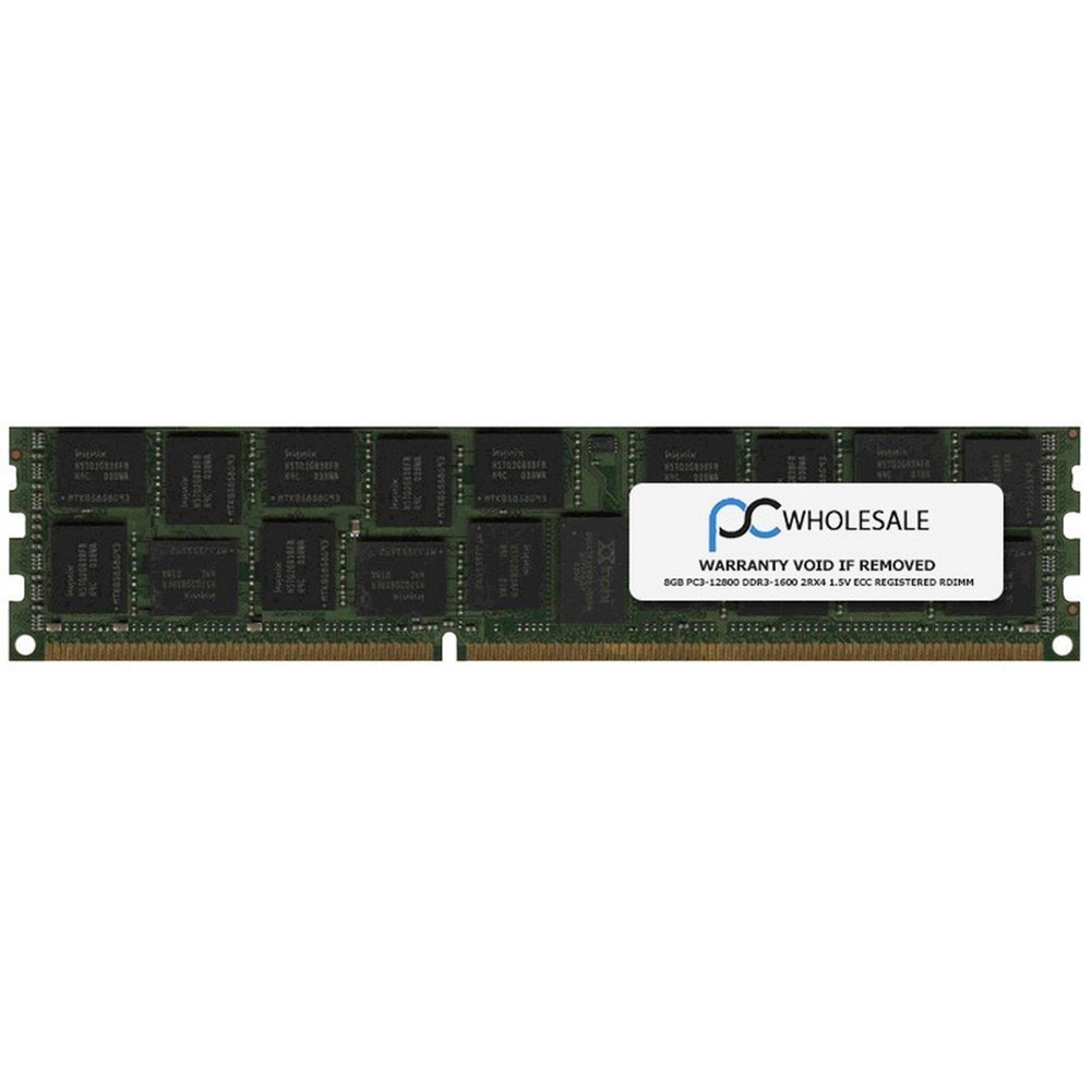 HP 690802-S21 8GB DDR3 SDRAM RDIMM DDR3-1600/PC3-12800 Server RAM Module