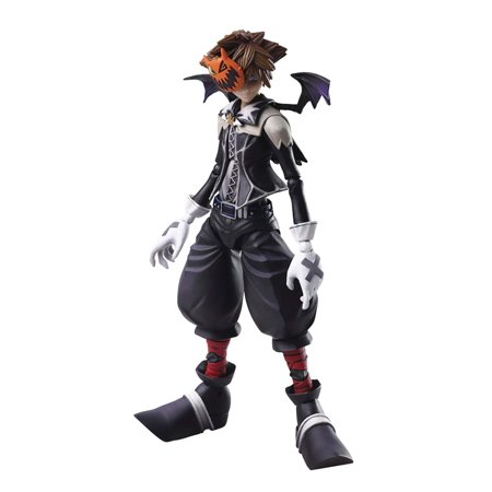 Square Enix AUG188272 Kingdom Hearts II: Bring Arts Sora (Halloween Town Version) Action Figure, Multicolor