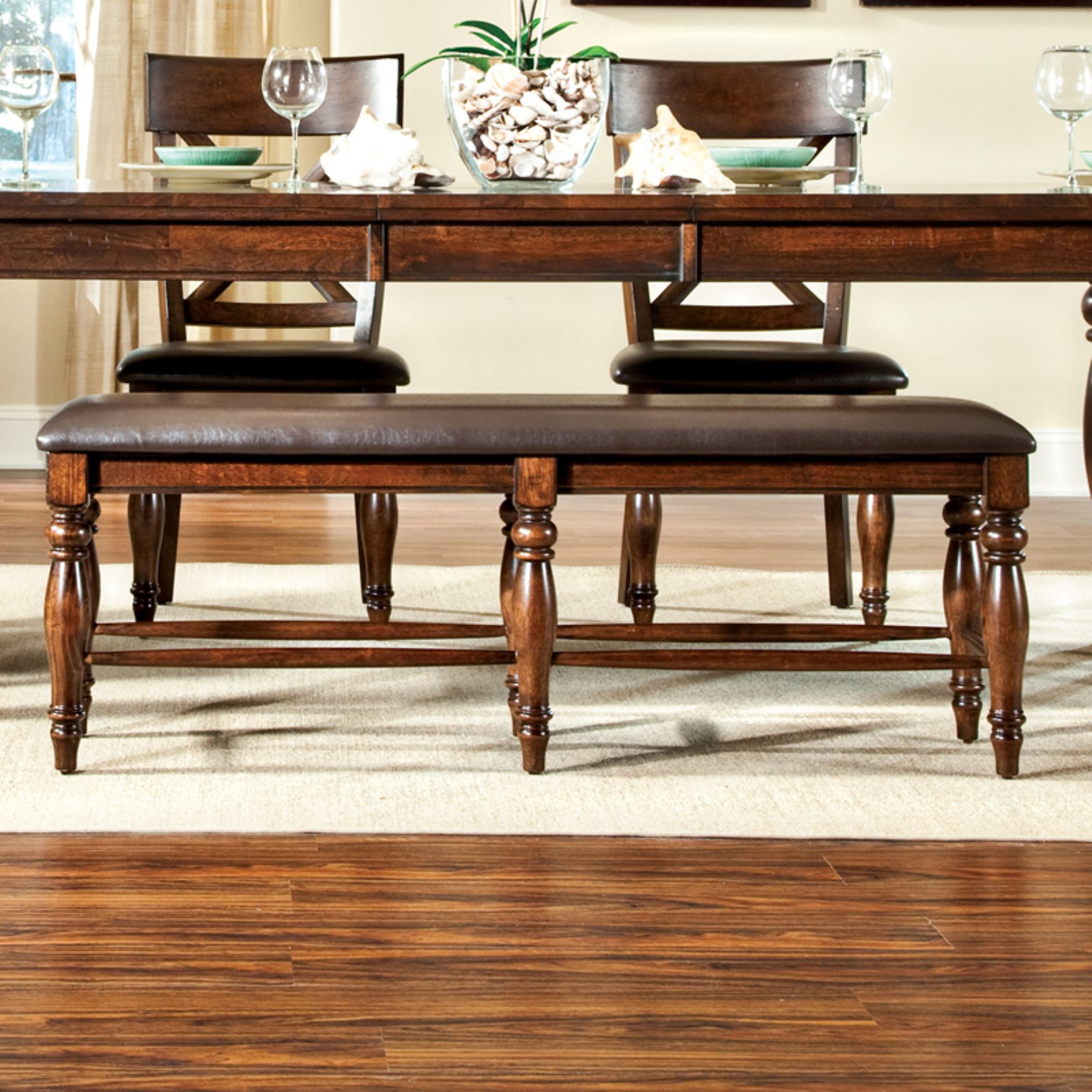 Imagio Home Kingston Backless Dining Bench