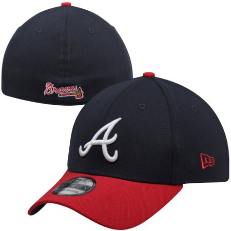 New Era Atlanta Braves MLB Team Classic Home 39THIRTY Flex Hat - Navy (Clothing Elizabethan Era)