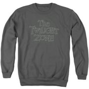 Twilight Zone Spiral Logo Mens Crewneck Sweatshirt