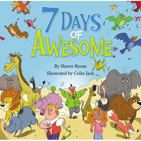 7 Days of Awesome : A Creation Tale](Days Of Creation)