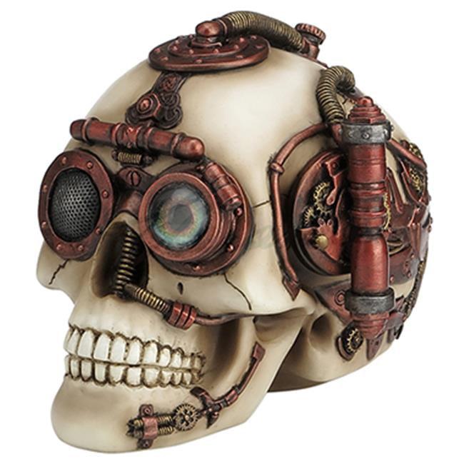 Steampunk Skull with Secret Drawer Trinket Box - image 1 of 1