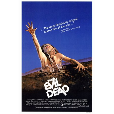 The Evil Dead (1983) 27x40 Movie Poster