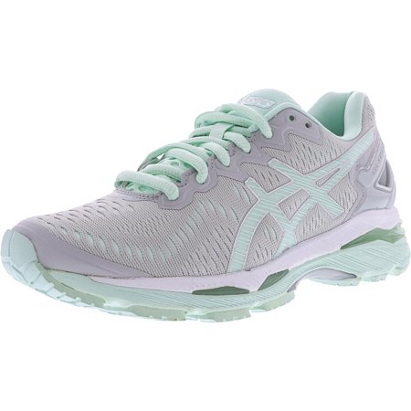 71bfc4c2e6 Asics - Asics Women s Gel-Kayano 23 Glacier Grey   Bay White Ankle-High Running  Shoe - 11.5M - Walmart.com