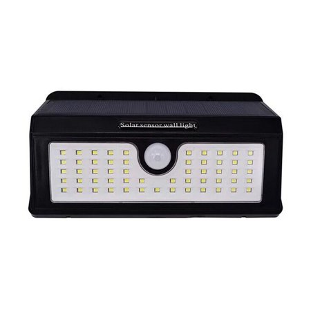 AIHOME Waterproof Outdoor Motion Activated Security Lighting 55 LED Bright Solar Powered Light for Patio, Deck, Yard, Garden - image 8 of 9