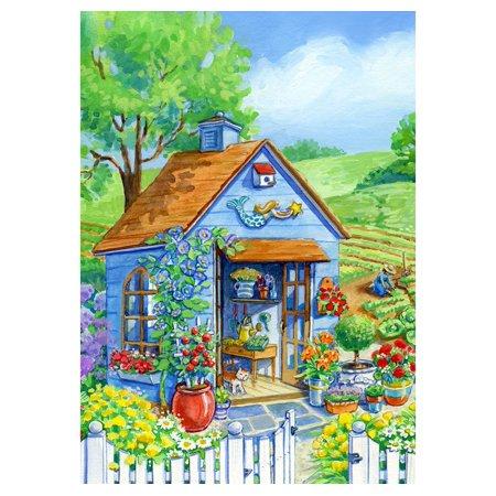 - Toland House Flag - Cottage Garden