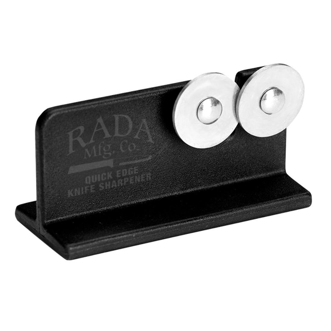 Rada Cutlery Quick Edge Knife Sharpener – Stainless Steel Wheels