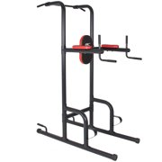 Best Choice Products Dipping Station Power Tower Stand Pull Push Up Bar Fitness Exercise Workout Gym