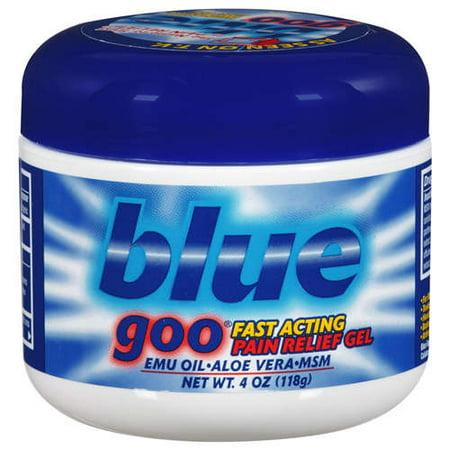 Blue Goo Blue Goo  Pain Relief Gel, 4 -