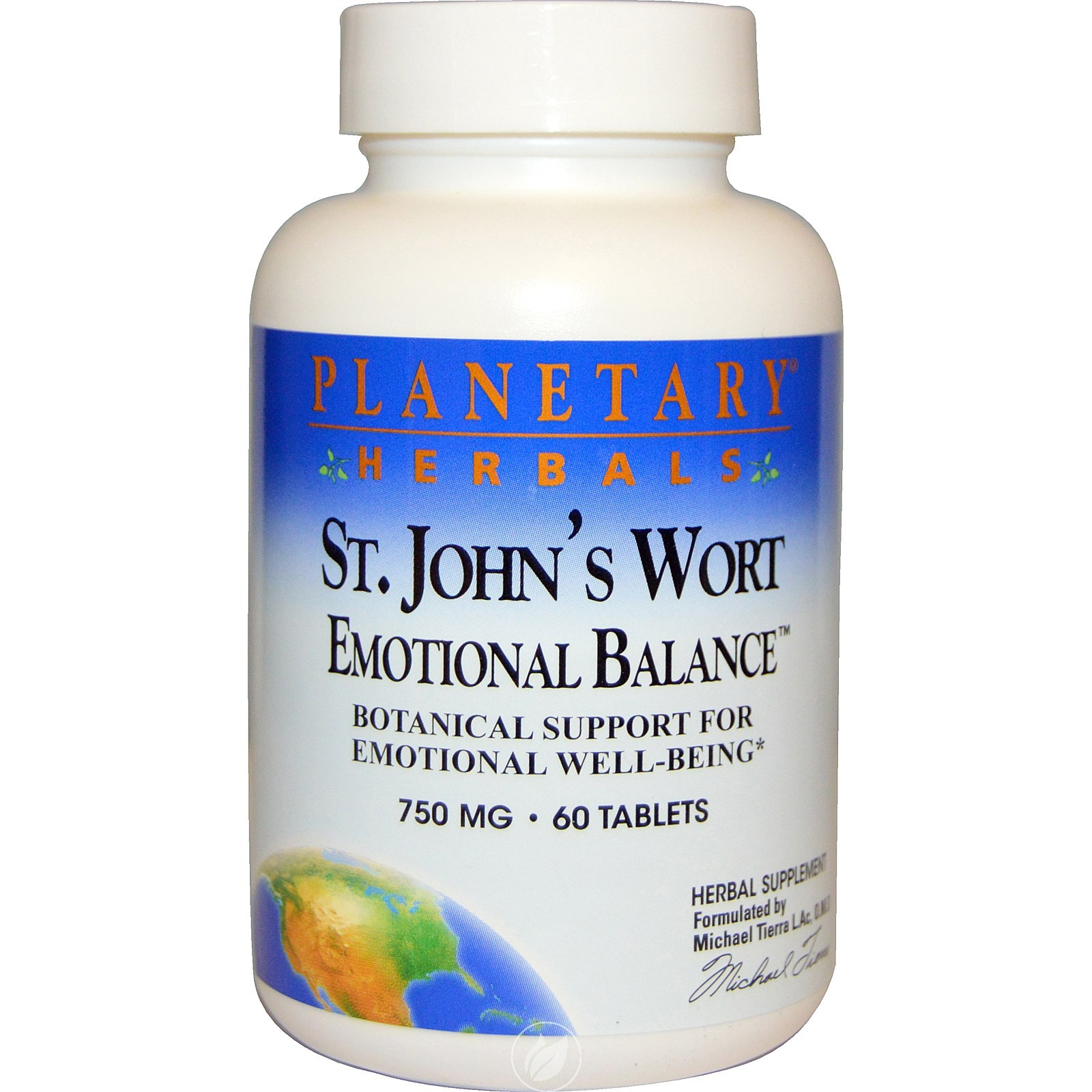 Planetary Formulas St Johns Wort Emotional Bal 60, Pack of 2