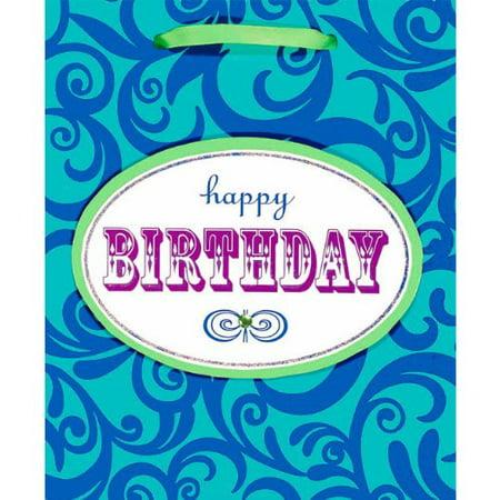 Birthday Scroll Gift Bag