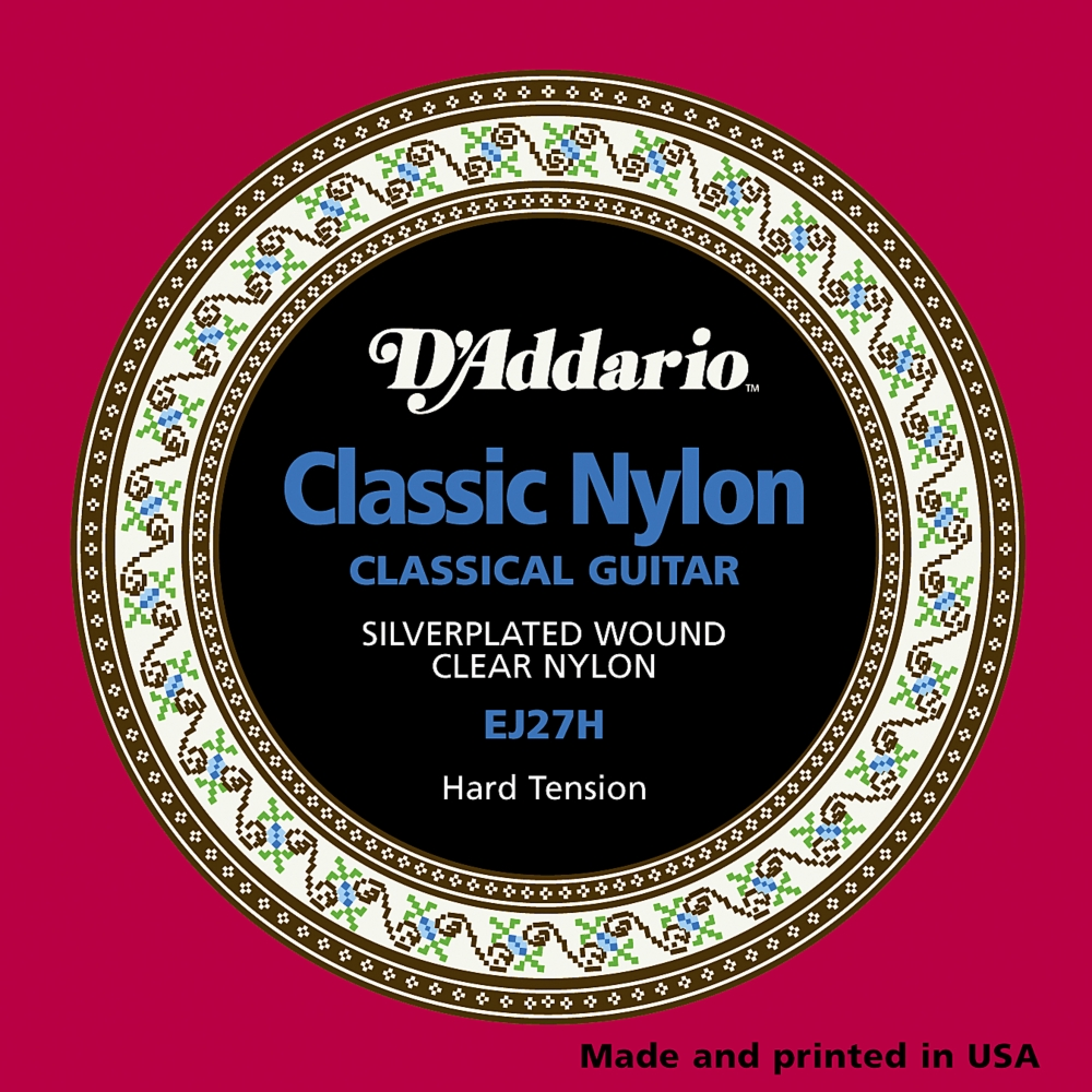 D'Addario EJ27H Classical Guitar Strings Hard Tension by D'Addario