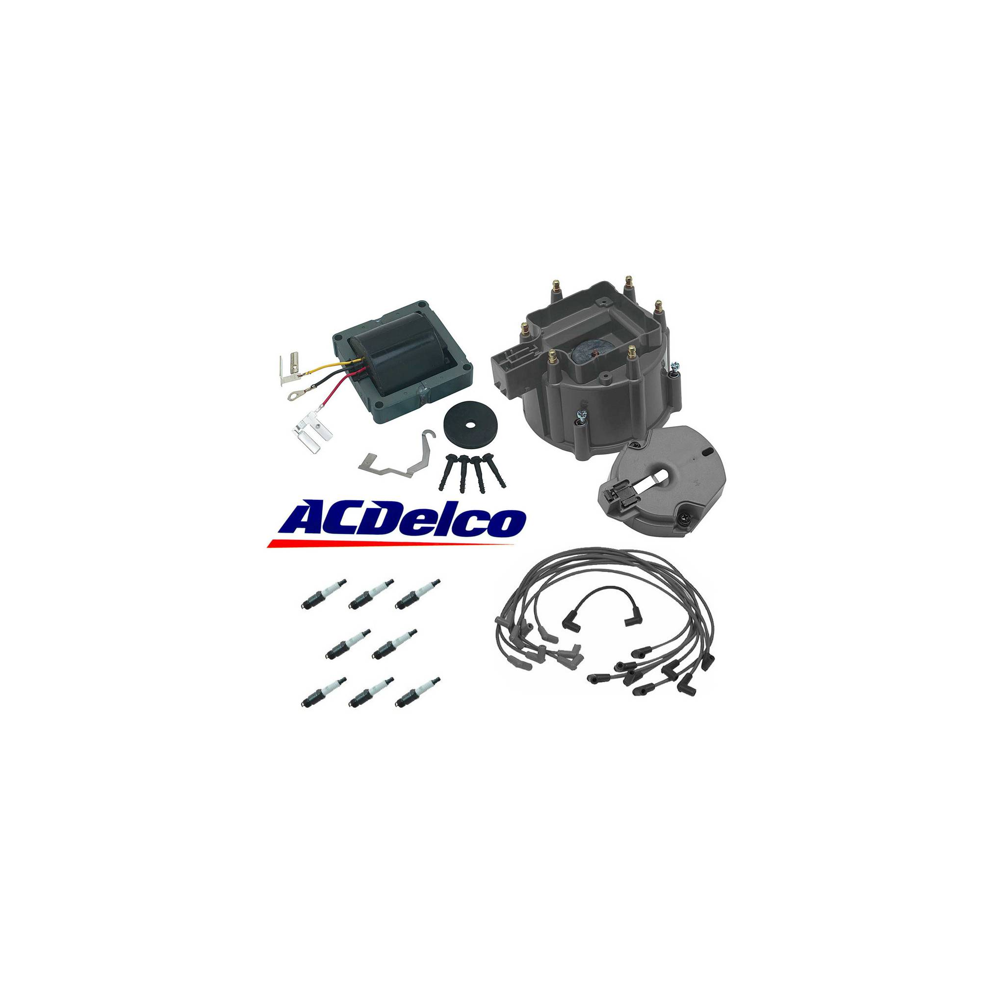 [DIAGRAM_5UK]  Eckler's Premier Products 57371437 Chevy AC Delco HEI Distributor Tune Up  Kit - Walmart.com - Walmart.com | Delco Hei Wiring Harness |  | Walmart
