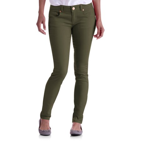 No Boundaries Juniors' Colored Skinny Jeans - Walmart.com