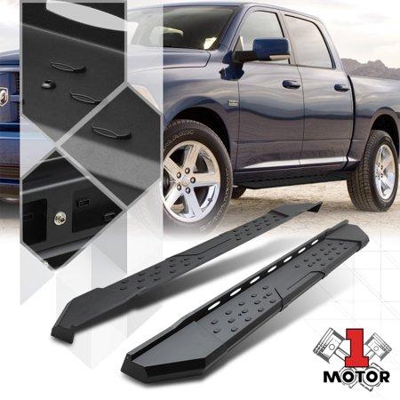 Dodge Ram Running Boards >> Black Running Board 5 5 Side Step Nerf Bar For 09 17 Dodge Ram 1500 Crew Cab 10 11 12 13 14 15 16