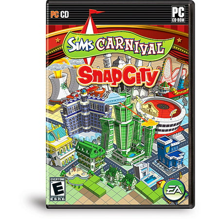 The Sims Carnival Snapcity   Pc