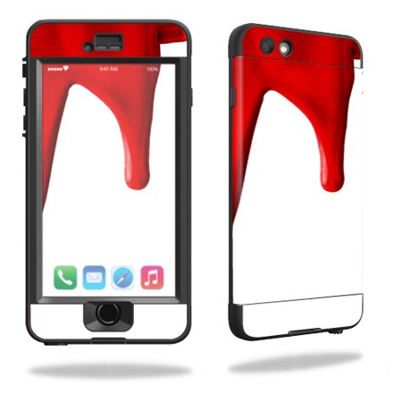 MightySkins Protective Vinyl Skin Decal for Lifeproof iPhone 6/6S Nuud wrap cover sticker skins Blood Drip](Dripping Blood)