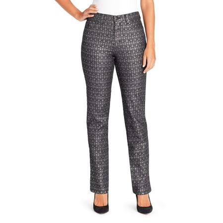 (Women's Amanda Havana Tiles Print Jean)