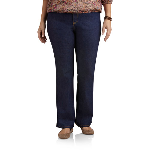 Faded Glory Women's Plus-Size Basic Bootcut Jeans