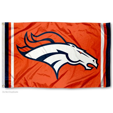 NFL Denver Broncos Orange 3' x 5' Flag