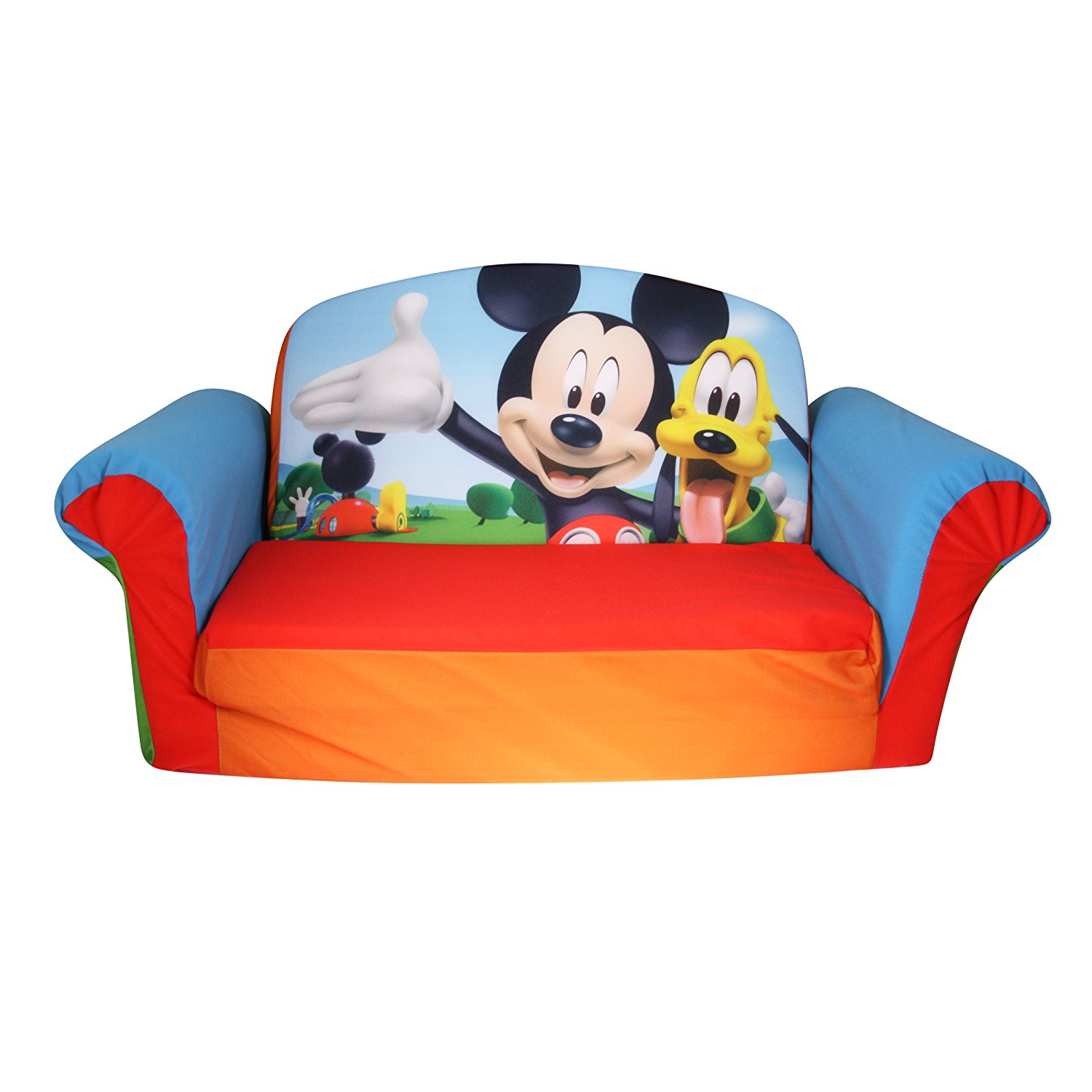 Marshmallow Furniture   Flip Open Sofa   Mickey Mouse Club House    Walmart.com