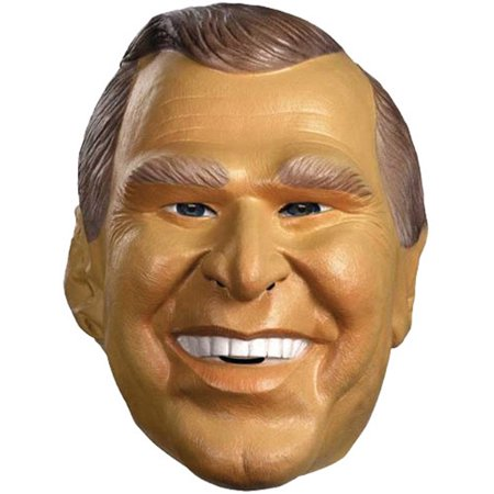 Bush Jr. Mask Halloween Accessory](Bush Halloween)