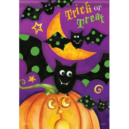 Better Homes And Gardens Halloween Treats (Trick or Treat Bats Garden Flag Halloween Pumpkin 13