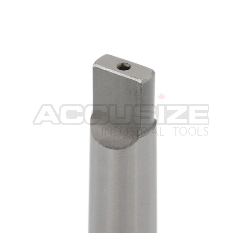 "Accusize Tools - Annular cutter arbor, MT3 to 1-1/4"" Weldon Shank with Coolant System For Drill- Use Annular Cutter on Drill Press, #MC10-0332 - image 1 of 10"